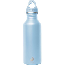 MIZU M5 Bottle with Light Blue Loop Cap 500ml blue